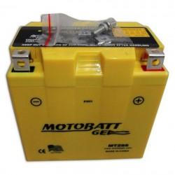 AKUMULATOR MOTOCYKLOWY 12V 6AH/100A P+ WYM 113X70X107 GEL 2 TERMINALE/BIEGUNY MOTOBATT MTZ6S