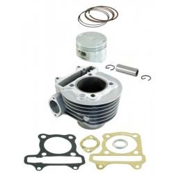 CYLINDER MOTOCYKLOWY ZESTAW KYMCO AGILITY R16 150CC 2008 2009 57,4MM RMS 100080401