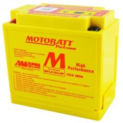 AKUMULATOR MOTOCYKLOWY 12V 4AH 280A P+ 151X87X130 145 LITHIUM LIFEPO4 LITOWO JONOWY CBC + PCB MOTOBATT MPLX12U-HP