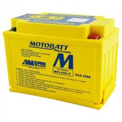 AKUMULATOR MOTOCYKLOWY 12V 3AH 230A P+ LITHIUM LIFEPO4 LITOWO JONOWY CBC + PCB MOTOBATT MPLX9U-P