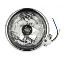 LAMPA MOTOCYKLOWA PRZÓD COSTUM 123MM CHROM VICMA 4776
