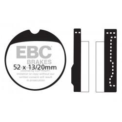 KLOCKI HAMULCOWE EBC FA013