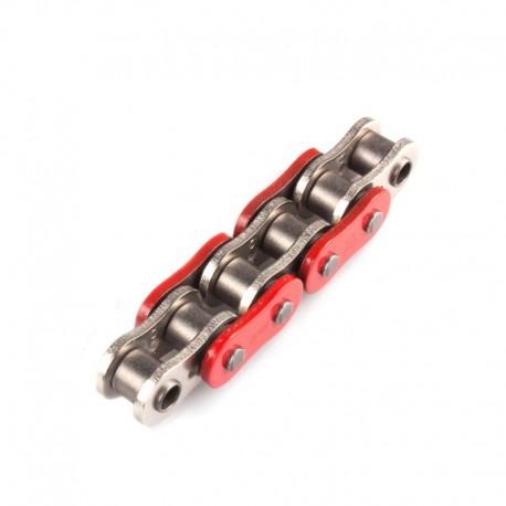ŁAŃCUCH NAPĘDOWY MOTOCYKLOWY XS-RING CZERWONY AFAM A525XHR3-R 122L