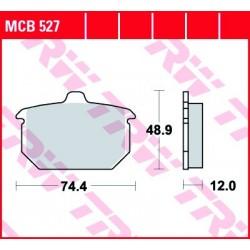 KLOCKI HAMULCOWE MOTOCYKL ORGANIC HARLEY-DAVIDSON FXRS 1340 LOW GLIDE 82 TRW MCB527