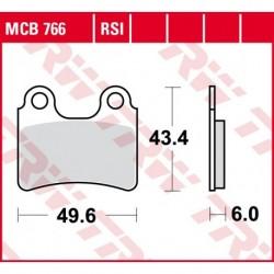 KLOCKI HAMULCOWE MOTOCYKL ORGANIC GAS GAS TXT 250 04-11 TRW MCB766