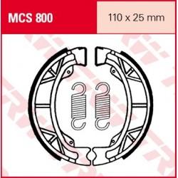 SZCZĘKI HAMULCOWE MOTOCYKL APRILIA 50 AMICO LX 95-96 KYMCO 50 AGILITY BASIC 4T 07 TRW MCS800