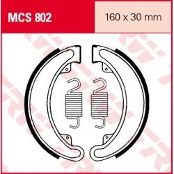 SZCZĘKI HAMULCOWE MOTOCYKL HONDA TRX 300 FW 88-00 TRW MCS802