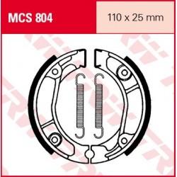 SZCZĘKI HAMULCOWE MOTOCYKL HONDA XL 125 R 85-91 HONDA XL 125 72 TRW MCS804