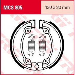 SZCZĘKI HAMULCOWE MOTOCYKL HONDA VT 125 C SHADOW 01-08 TRW MCS805