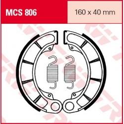 SZCZĘKI HAMULCOWE MOTOCYKL HONDA VT 750 C SHADOW 04-09 HONDA VT 600 C 94-01 TRW MCS806