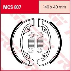 SZCZĘKI HAMULCOWE MOTOCYKL HONDA VT 500 C 83-86 TRW MCS807