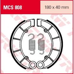 SZCZĘKI HAMULCOWE MOTOCYKL HONDA CB 750 K 82- TRW MCS808