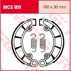 SZCZĘKI HAMULCOWE MOTOCYKL HONDA CB 450 73-74 TRW MCS809