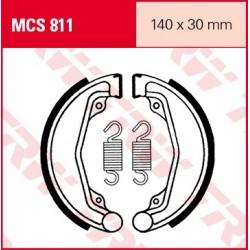 SZCZĘKI HAMULCOWE MOTOCYKL HONDA CB 250 RS 85- TRW MCS811