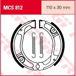 SZCZĘKI HAMULCOWE MOTOCYKL HONDA XL 250 S 79-81 TRW MCS812