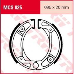 SZCZĘKI HAMULCOWE MOTOCYKL HONDA CR 80 R 83-84 HONDA SA 50 VISION 88-94 TRW MCS825