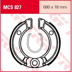 SZCZĘKI HAMULCOWE MOTOCYKL HONDA XR 50 R 00- TRW MCS827