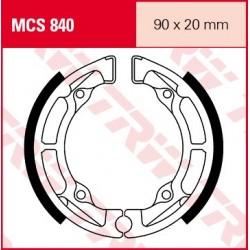 SZCZĘKI HAMULCOWE MOTOCYKL KAWASAKI KDX 50 03-05 TRW MCS840