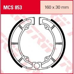 SZCZĘKI HAMULCOWE MOTOCYKL KAWASAKI ER-5 500 TWISTER 97-00 TRW MCS853