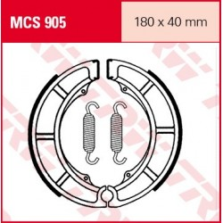 SZCZĘKI HAMULCOWE MOTOCYKL SUZUKI LT-A 500 00-01 TRW MCS905