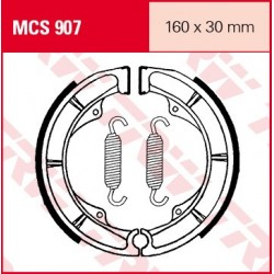 SZCZĘKI HAMULCOWE MOTOCYKL SUZUKI GSX 400 E 82-84 TRW MCS907
