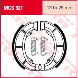SZCZĘKI HAMULCOWE MOTOCYKL SUZUKI AN 125 95-00 SUZUKI AY 50 KATANA 97-02 TRW MCS921