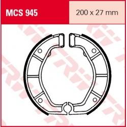 SZCZĘKI HAMULCOWE MOTOCYKL BMW R 1000 RT 08 89-95 TRW MCS945