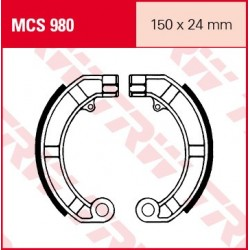 SZCZĘKI HAMULCOWE MOTOCYKL PIAGGIO PK 125 VESPA 81-00 TRW MCS980