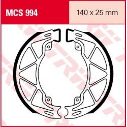 SZCZĘKI HAMULCOWE MOTOCYKL PIAGGIO 150 LIBERTY 08- APRILIA 125 MOJITO 02-04 TRW MCS994