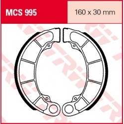 SZCZĘKI HAMULCOWE MOTOCYKL HONDA FES 125 PANTHEON 98-02 TRW MCS995