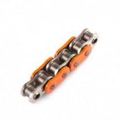 ŁAŃCUCH NAPĘDOWY MOTOCYKLOWY XS-RING AFAM POMARAŃCZOWY A520XRR-O 120L