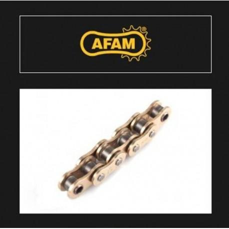 OGNIWO ŁĄCZĄCE ŁAŃCUCHA NAPĘDOWEGO SPINKA MOTOCYKLOWA ZŁOTE AFAM AR A428R1-G