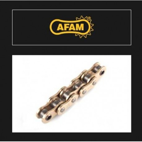 ŁAŃCUCH NAPĘDOWY MOTOCYKLOWY XS-RING ZŁOTY AFAM A520RXX-GG 120L