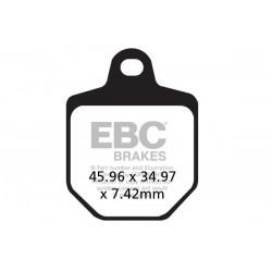 KLOCKI HAMULCOWE EBC EPFA433/4HH