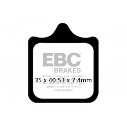 KLOCKI HAMULCOWE EBC EPFA322/4HH