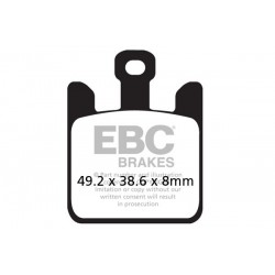 KLOCKI HAMULCOWE EBC EPFA369/4HH
