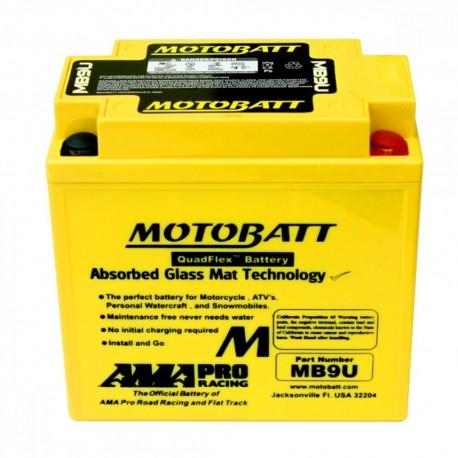 AKUMULATOR MOTOCYKLOWY 12V 11AH/140A P+ 136X76X133/155 MOTOBATT QUADFLEX 4 BIEGUNY MB9U
