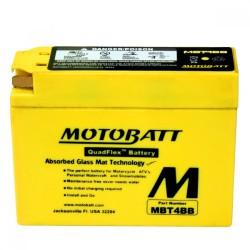 AKUMULATOR MOTOCYKLOWY 12V 2.5AH/40A2 113X38X87/87 MOTOBATT QUADFLEX 2 BIEGUNY MBT4BB