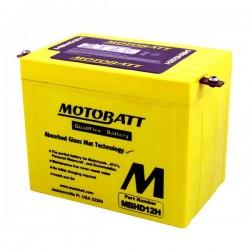 AKUMULATOR MOTOCYKLOWY 12V 33AH/390A L+ 200X130X163/163 MOTOBATT QUADFLEX 2 BIEGUNY MBHD12H