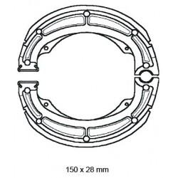 SZCZĘKI HAMULCOWE MOTOCYKL SUZUKI 150X28 NHC MBS3303-CU1