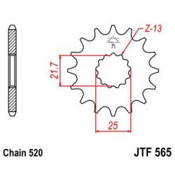 ZĘBATKA NAPĘDOWA PRZÓD MOTOCYKLOWA STALOWA JTF565.13SC